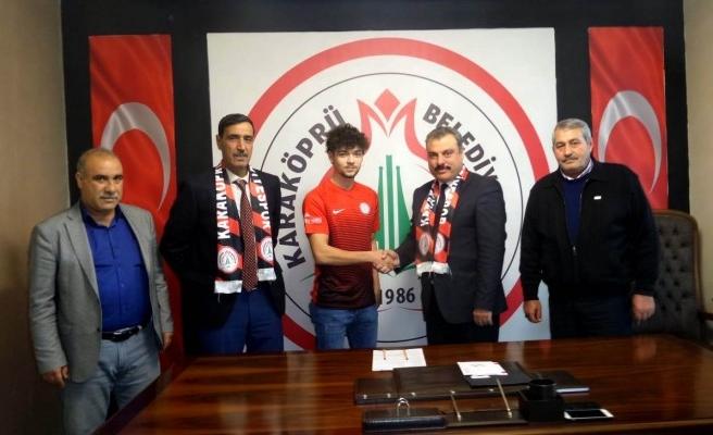 Galatasaraylı futbolcu Karaköprü Belediyespor ile anlaştı