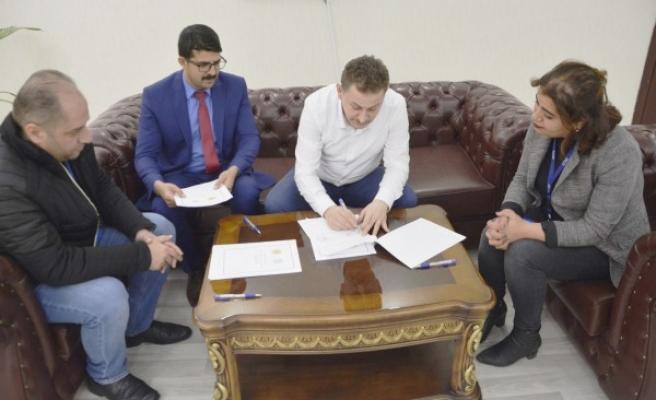 Şanlıurfa'da 50 aileye istihdam için imzalar atıldı