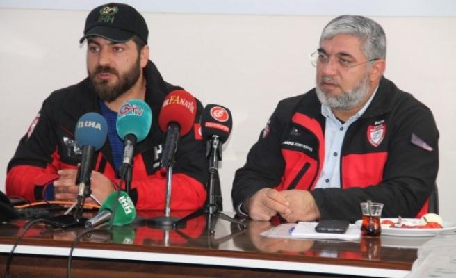 İHH İl Temsilcisi Elazığ'daki çalışmaları anlattı