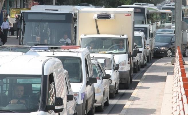 TÜİK, Şanlıurfa'daki araç sayısını açıkladı
