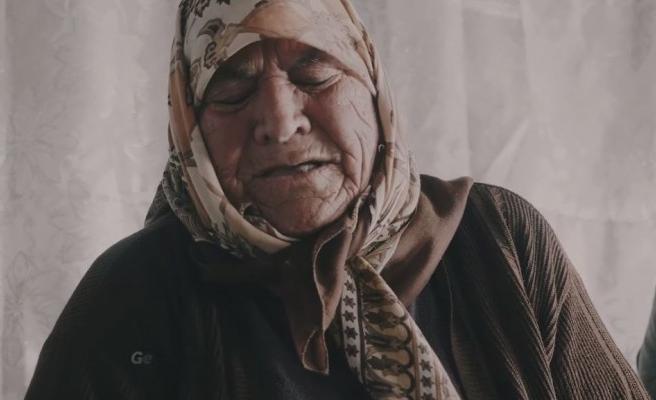 Urfalı Ağıtçı Şahide Anar'ı gören hüzünleniyor