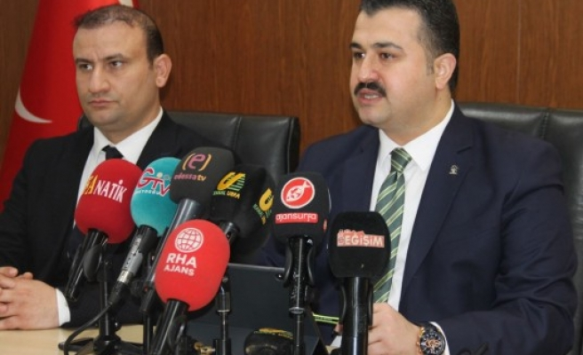 AK Parti İl Başkanı: Urfa algılar ile yönetilemez