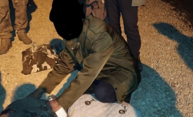 Urfa'da ekipler kaçak avcılara operasyon yaptı