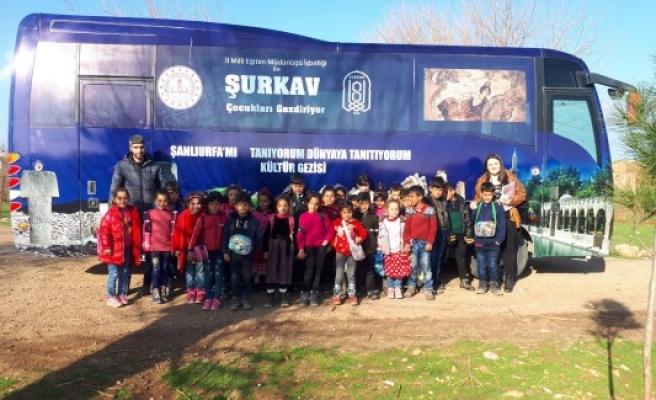 Urfa'daki dezavantajlı öğrenciler için proje