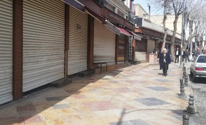 Şanlıurfa'da Suriyeliler kepenk kapattı!