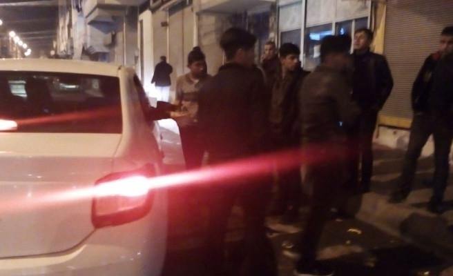 Şanlıurfa'da izinsiz yürüyüşe polis engeli