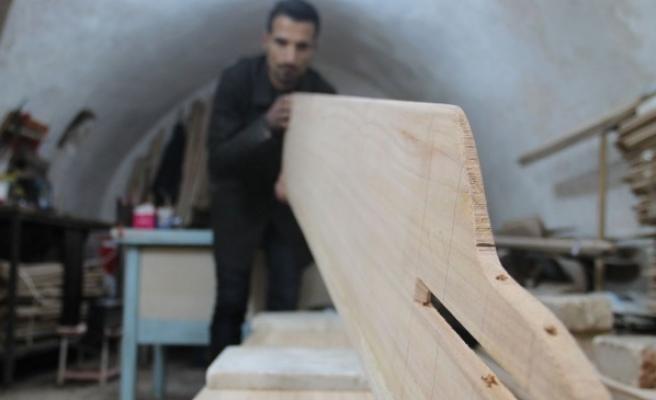 Şanlıurfa'da şekil alan kürekler, yurt dışına ihraç ediliyor