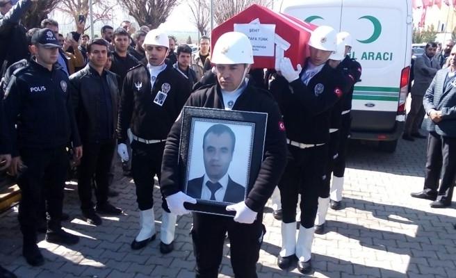 Ağrı'da şehit olan Mustafa Türk, Şanlıurfa'da defnedildi