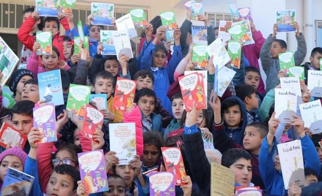 Büyükşehir'den Suruçlu gençlere kitap desteği