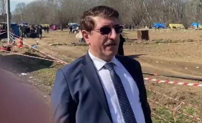 Yahya Akman, Yunanistan sınırında yaşananlara tepki gösterdi