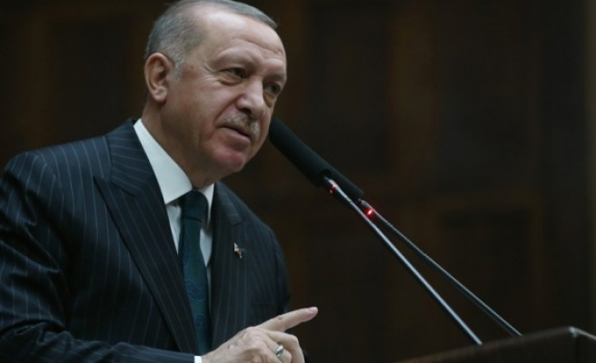 Cumhurbaşkanı Erdoğan, AK Parti Grup Toplantısı'nda konuştu