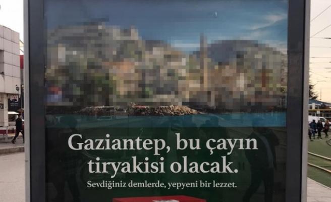 Gaziantep reklamında Şanlıurfalıları kızdıran hata
