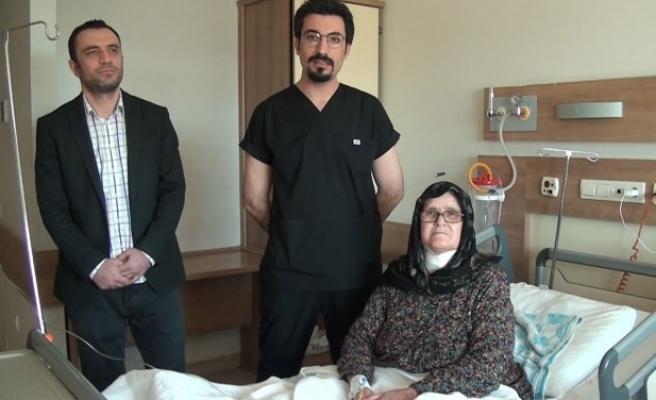 Suriyeli hasta, Şanlıurfa'da şifa buldu