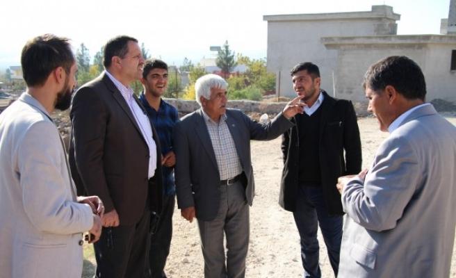 DEDAŞ yetkilileri, Urfa'da muhtarlarla bir araya geldi
