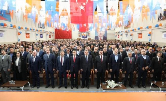 AK Parti Şanlıurfa ilçe kongrelerinde tarih yeniden belirlendi!