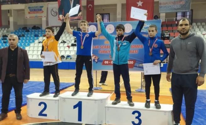 Urfalı sporcu Türkiye üçüncüsü oldu