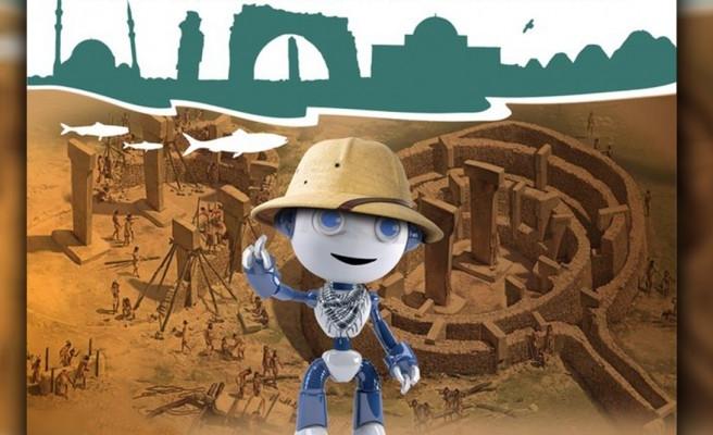 Robotlar, Göbeklitepe temasıyla Urfa'da buluşuyor