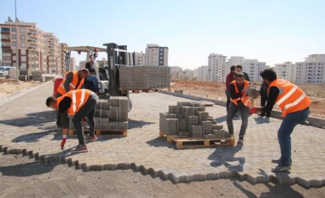 Urfa'da 'Kent Estetiği' çalışmaları devam ediyor