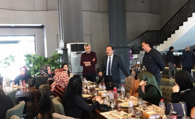 Urfa'daki kadın eczacılar 'Kadınlar Günü'nde buluştu
