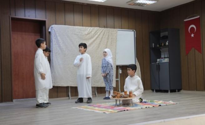 Şanlıurfalı çocukların tiyatrosu ilgi topladı