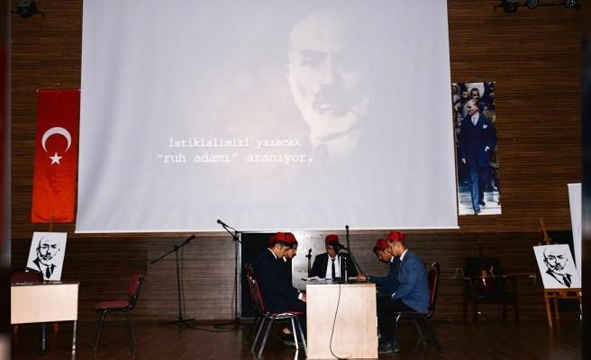 Urfa'da İstiklal Marşı ve Mehmet Akif Ersoy için tören yapıldı