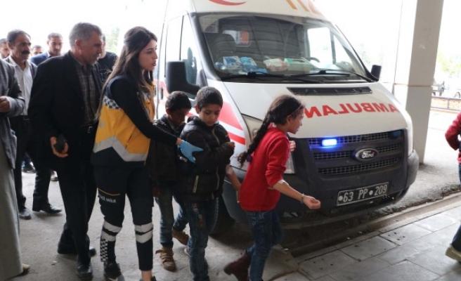 Şanlıurfa'da zehirlenen öğrenciler hastaneye kaldırıldı