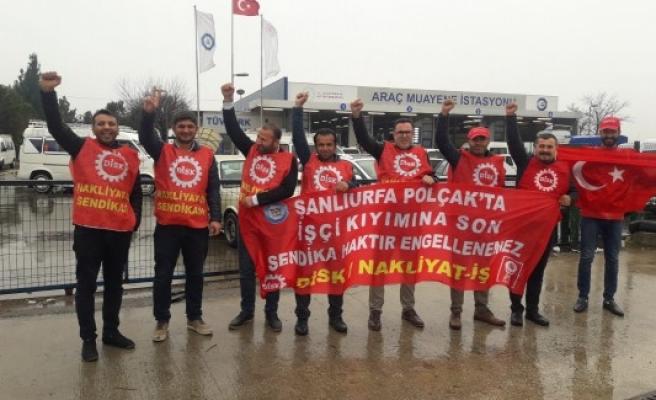 Şanlıurfa'daki işçilerin eylemi sürüyor