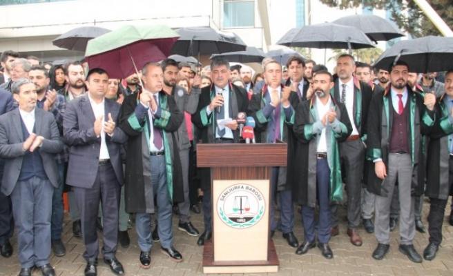 Gözaltı kararına Urfa'dan tepki: Geri adım atmayacağız