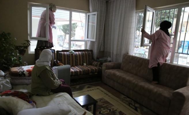 Haliliye'nin 'Evde Bakım Hizmeti' devam ediyor