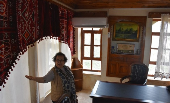 Şanlıurfa'daki 'Tarihi Feyzullah Konağı'na misafir geldi