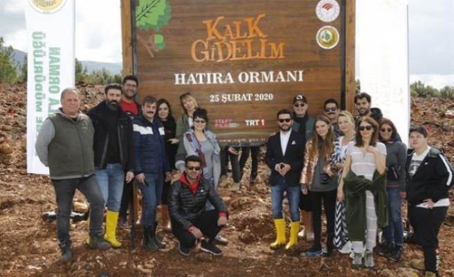 Muğla'da 'Kalk Gidelim' Dizisi Hatıra Ormanı Kuruldu
