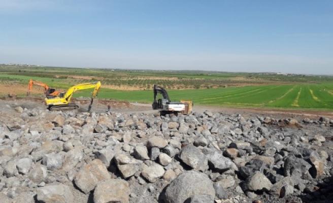 Suruç'ta içmesuyu projesi için inşaat çalışmaları başladı
