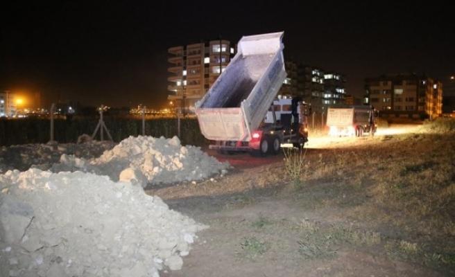 Haliliye'nin mahallelerinde yollar yenileniyor