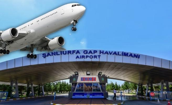 Şanlıurfa uçak seferleri başladı!