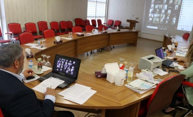 ŞUTSO'da meclis toplantısı online olarak yapıldı