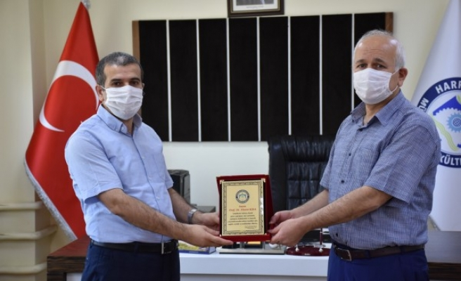 Harran Üniversitesi'nde yeni bir atama gerçekleşti