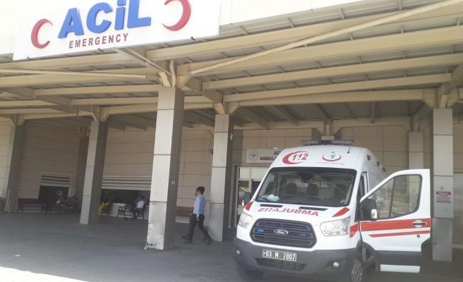 Şanlıurfa-Akçakale yolunda kaza: Sürücü yaralandı
