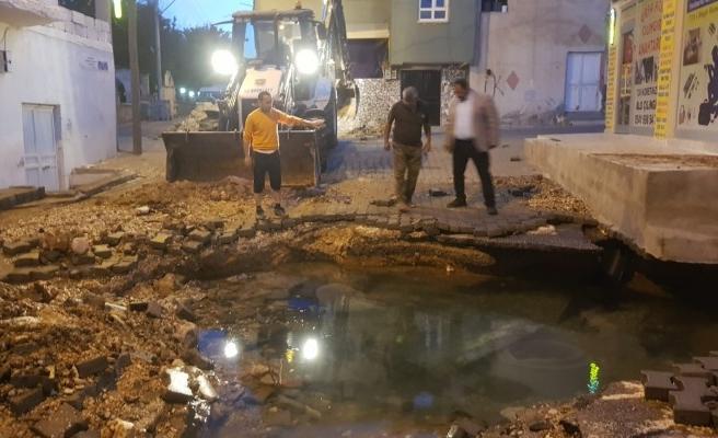 Şanlıurfa'nın bazı bölgelerinde su kesintisi yaşanıyor