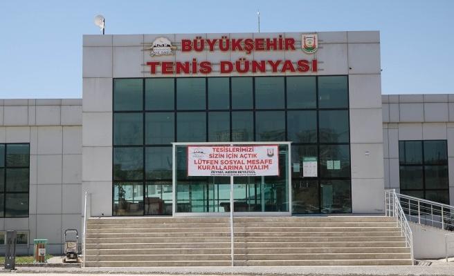 Şanlıurfa'da normalleşme sürecinde spor tesisleri de açılıyor (EK)
