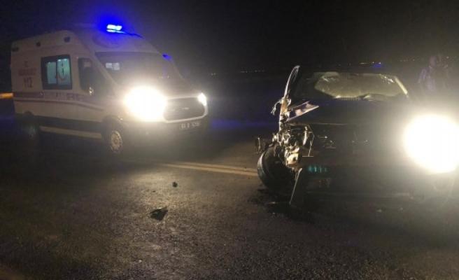 Şanlıurfa'da zincirleme kaza! 2 yaralı