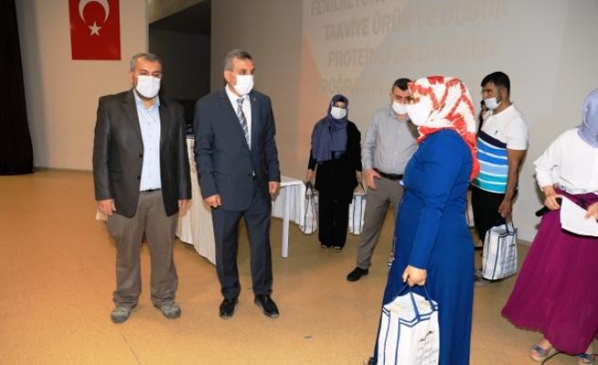 Şanlıurfa'da fenilketonüri hastaları unutulmadı