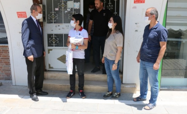 Yalçınkaya'dan sınav öncesi öğrencilere ziyaret