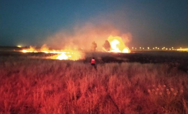 Osmanbey Kampüsü'nde yangın!