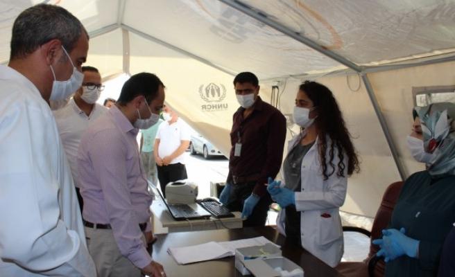 İl Sağlık Müdürü Viranşehir'deki tedbirleri inceledi
