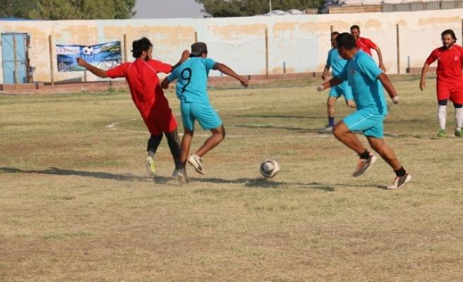 Barış Pınarı bölgesindeki gençler için turnuva yapıldı