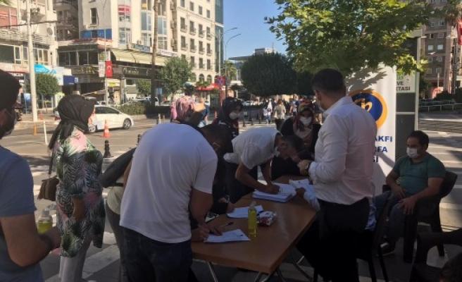 Şanlıurfa'da Ayasofya için imza kampanyası başlatıldı
