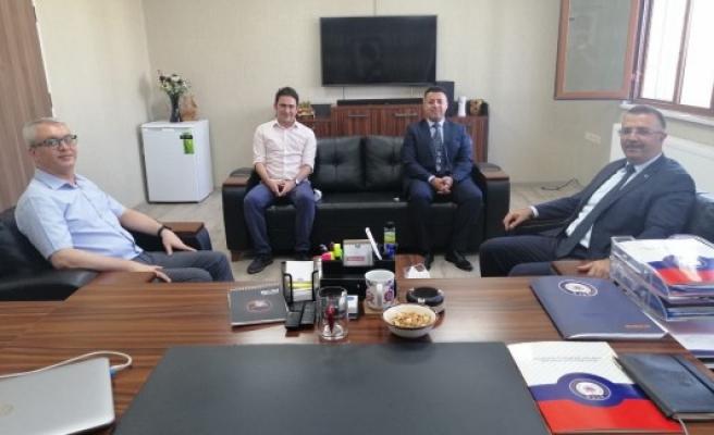 Başsavcı Öztoprak'tan KOM ve Narkotik Şube'ye ziyaret