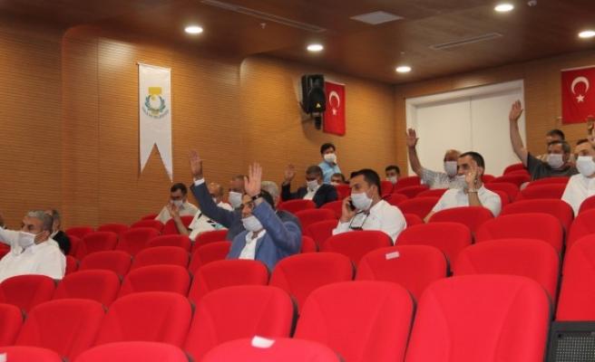 Haliliye Meclisi gündem maddelerini oyladı!