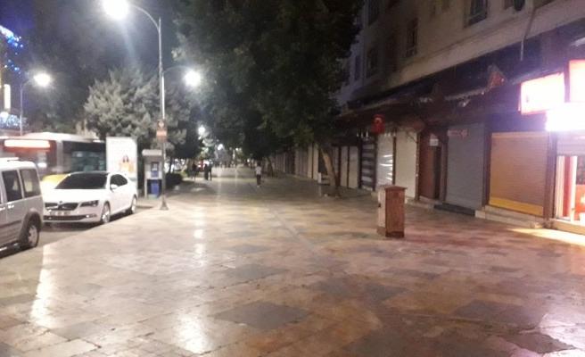 Şanlıurfa sokakları bayramda bomboş kaldı!