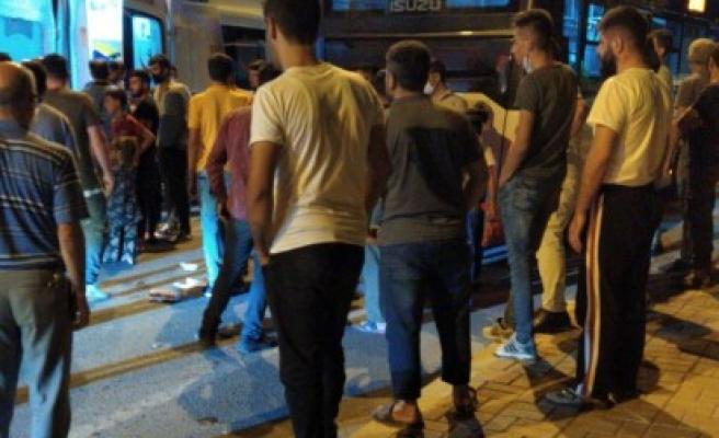 Urfa'da feci kaza! Otobüsün altında kaldı